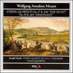 """Mozart: String Quartets No. 17 K 458 """"The Hunt"""", No. 19 K. 465 """"Dissonant"""""""