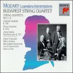 """Mozart: String Quintets; Clarinet Quintet """"Stadler""""; Piano Quartet, K478; Eine kleine Nachtmusik"""