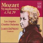 Mozart: Symphonies, 4, 5 & 29