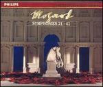 Mozart: Symphonies Nos. 21-41