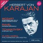 Mozart: Symphonies Nos. 35 & 41; Piano Concerto No. 23; Ravel: Rapsodie Espagnole; Tchaikovsky: Symphony No. 4