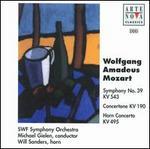 Mozart: Symphony No. 39; Concertone KV 190; Horn Concerto KV 495