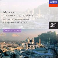 Mozart: Symphony Nos.25, 29, 38 & 40; Serenata Notturna In D Major - Adrian Beers (double bass); Cecil Aronowitz (viola); Emanuel Hurwitz (violin); English Chamber Orchestra (chamber ensemble); Raymond Keenlyside (violin)
