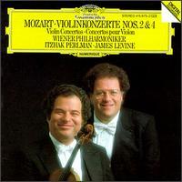 Mozart: Violin Concertos Nos. 2 & 4 - Itzhak Perlman (violin); Wiener Philharmoniker; James Levine (conductor)