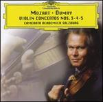 Mozart: Violin Concertos Nos. 3, 4, & 5
