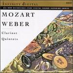 Mozart, Weber: Clarinet Quintets