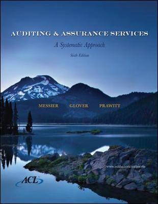 MP Auditing and Assurance Services with ACL SW CD - Messier, William F