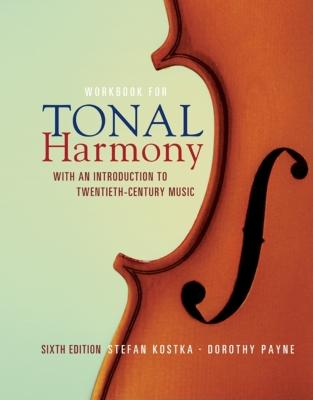 MP Tonal Harmony Workbook with Workbook CD and Finale Discount Code - Kostka, Stefan M, and Payne Dorothy, and Payne, Dorothy