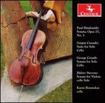 Music for Solo Cello by Hindemith, Cassadó, Crumb & Stevens