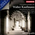 Music in Exile: Chamber Works by Walter Kaufmann
