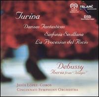 Music of Turina & Debussy - Cincinnati Symphony Orchestra; Jesús López-Cobos (conductor)