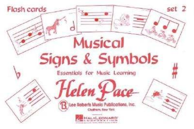Musical Signs and Symbols Set II 24 Cards 48 Sides Moppet Flash Cards - Pace, Robert