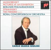 Mussorgsky: Pictures at an Exhibition; Stravinsky: The Firebird - Carlo Maria Giulini (conductor)