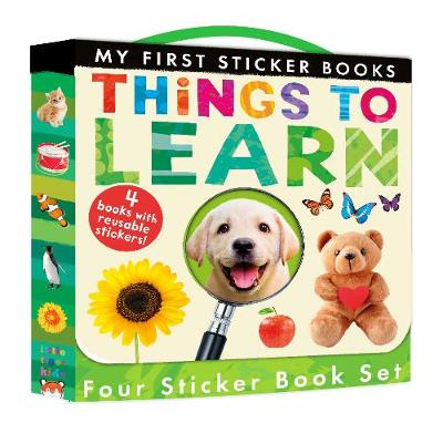 My First Sticker Books: Things to Learn - Walden, Libby, and Hegarty, Patricia
