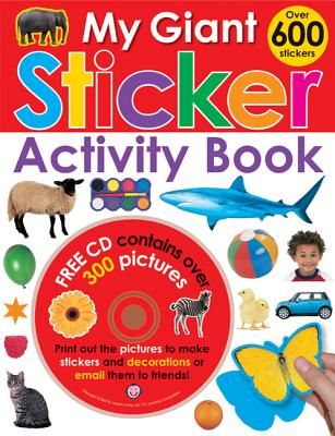 My Giant Sticker Activity Book - Priddy, Roger