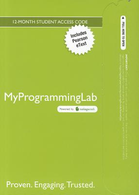 Myprogramminglab with Pearson Etext -- Access Card -- For Introduction to Programming with C++ - Liang, Y Daniel