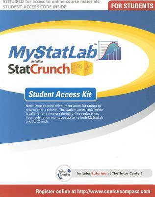 Mystatlab -- Standalone Access Card - Pearson, - T