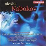 Nabokov: Ode, Méditation sur la Majesté de Dieu; Union Pacific