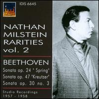 Nathan Milstein Rarities, Vol. 2 - Artur Balsam (piano); Nathan Milstein (violin); Rudolf Firkusny (piano)