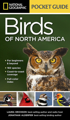 National Geographic Pocket Guide to the Birds of North America - Erickson, Laura