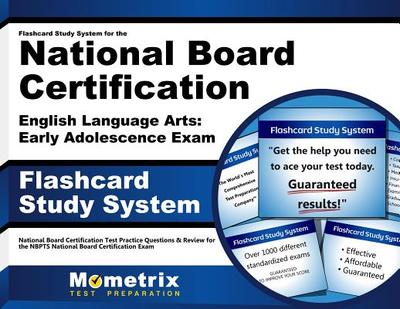 Nbpts English Language Arts: Early Adolescence Flashcard Study System: Nbpts Test Practice Questions & Exam Review for the National Board Certification Exam - Editor-Nbpts Exam Secrets