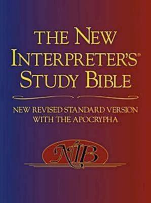 New Interpreter's Study Bible-NRSV - Harrelson, Walter