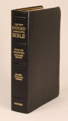 New Oxford Annotated Bible-RSV - May, Herbert G (Editor)