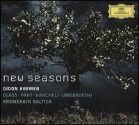 New Seasons - Andrei Pushkarev (keyboards); Gidon Kremer (violin); Giedré Dirvanauskaité (cello);...