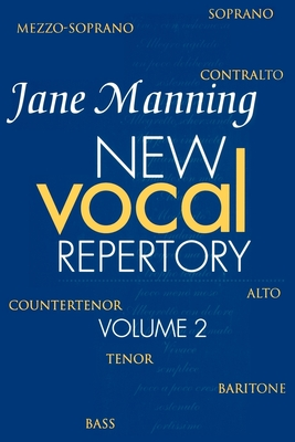New Vocal Repertory: Volume 2 - Manning, Jane