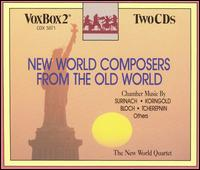 New World Composers from the Old World - New World Ensemble