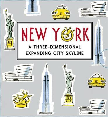New York: A Three-dimensional Expanding City Skyline - McMenemy, Sarah (Illustrator)