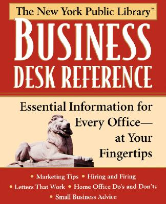 New York Public Library Business Desk Reference - New York Public Library