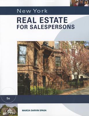 New York Real Estate for Salespersons - Spada, Marcia Darvin
