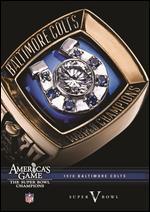 NFL: America's Game - 1970 Baltimore Colts - Super Bowl V