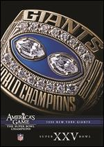 NFL: America's Game - 1990 New York Giants - Super Bowl XXV