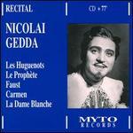 Nicolai Gedda - Recital