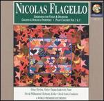 Nicolas Flagello: Credendum for Violin & Orchestra; Goldoni & Burlesca Overtures; Piano Concertos Nos. 2 & 3