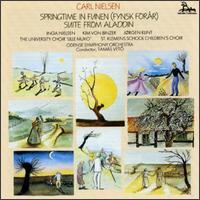 Nielsen: Springtime in Funen; Suite from Aladdin - Inga Nielsen (soprano); Jorgen Klint (bass); Katrine Andersen (vocals); Kim von Binzer (tenor); Signe Yde-Andersen (vocals);...