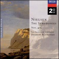 Nielsen: Symphonies 4-6 - Barbara Bonney (soprano); Bo Anker Hansen (bass); John Mark Ainsley (tenor); Lars Pedersen (tenor);...
