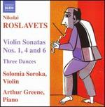 Nikolai Roslavets: Violin Sonatas; Three Dances