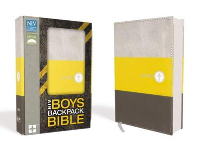 NIV Boys Backpack Bible, Compact, Imitation Leather - Zondervan