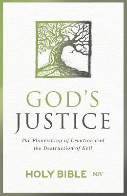 NIV God's Justice Bible: The flourishing of creation and the destruction of evil - New International Version