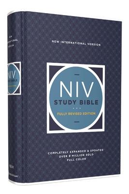NIV Study Bible, Fully Revised Edition, Hardcover, Red Letter, Comfort Print - Barker, Kenneth L. (General editor), and Strauss, Mark L. (General editor), and Brown, Jeannine K. (General editor)