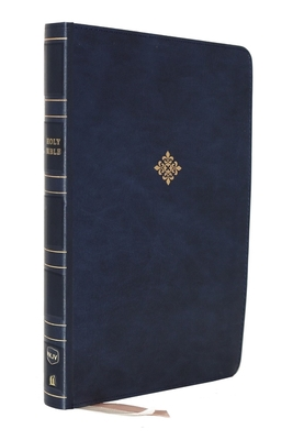Nkjv, Thinline Bible, Large Print, Leathersoft, Blue, Comfort Print: Holy Bible, New King James Version - Thomas Nelson