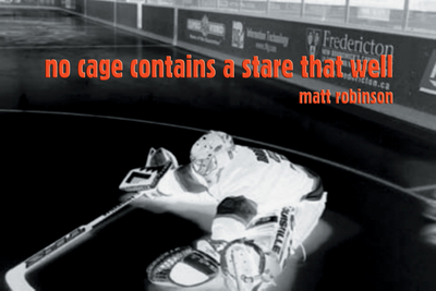 No Cage Contains a Stare That Well - Robinson, Matt