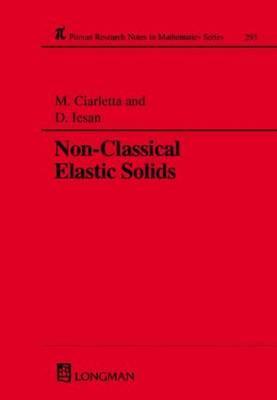 Non-Classical Elastic Solids - Claretta, Michele