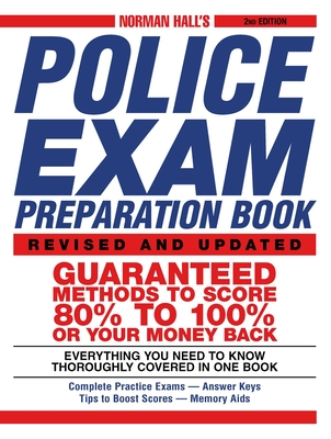 Norman Hall's Police Exam Preparation Book - Hall, Norman S