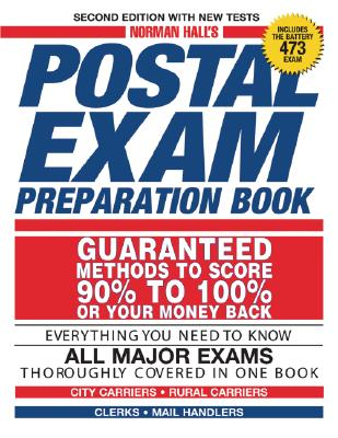 Norman Hall's Postal Exam Preparation Book - Hall, Norman