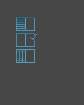 "Notebook, 8"" X 10,"" Plain / Blank: Design Notebook - Kosmidis, Athos"