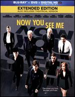 Now You See Me [2 Discs] [Blu-ray/DVD] [Includes Digital Copy] - Louis Leterrier
